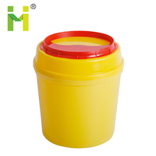 Medical Sharp Container Disposal Round Plastic Medical Sharp Box Disposal Bins