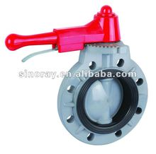 wafers end type butterfly valves
