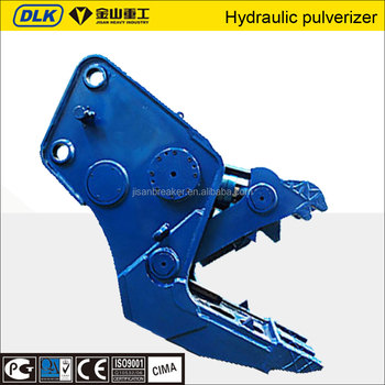 Secondary Demolition construction machine Hydraulic Pulverizer/Rock Crusher