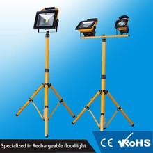 Tripod stand portable 30W Epistar outdoor rechargeable led flood light