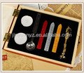 Special Christmas gifts Wooden Case With Wax Sealing stamp