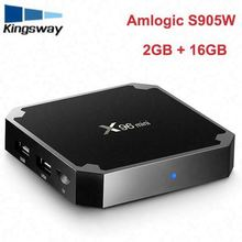 Cheapest Quad Core s905w android 7.1 TV Box x96 mini With kd 17.3 Fully Loaded 1/2gb ram 8/16gb rom Dual Band WiFi smart TV Box