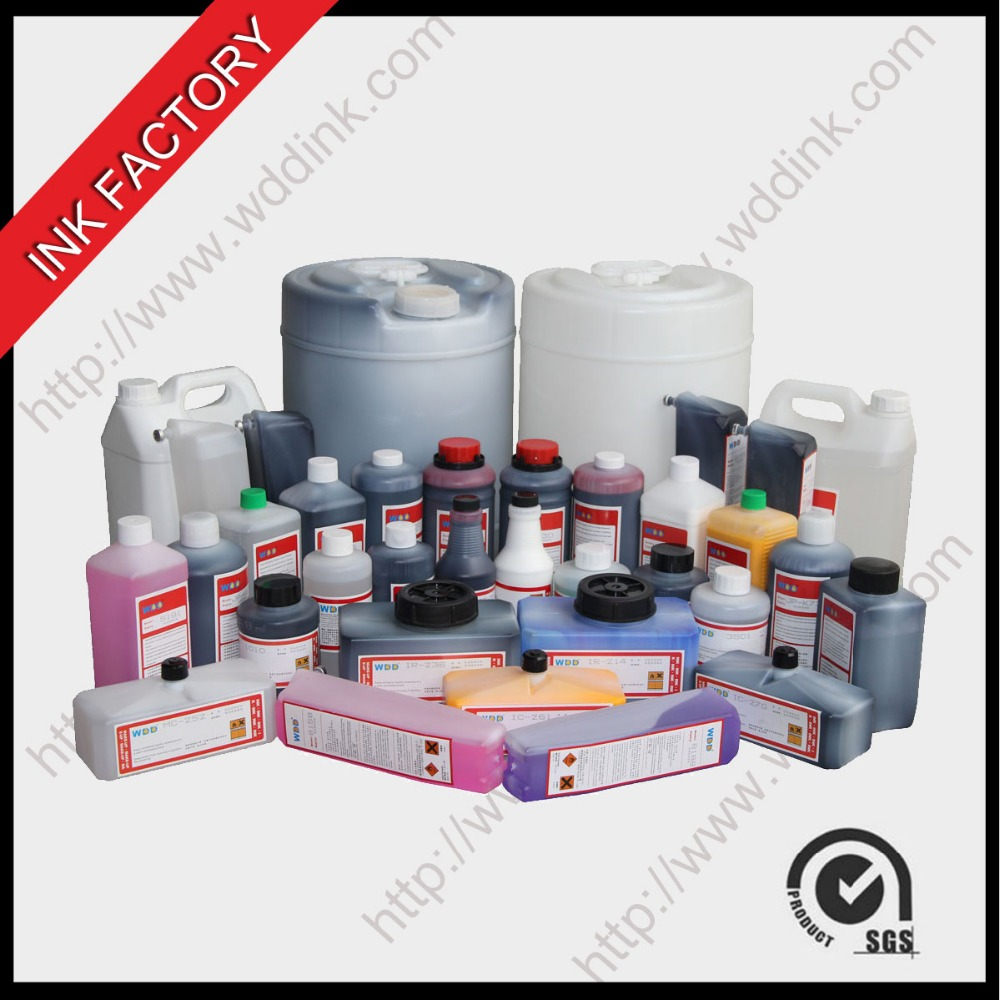 WDD inks for small character date printer CIJ consumables
