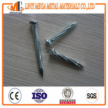 galvanized sloped twisted diamond point concrete steel nails