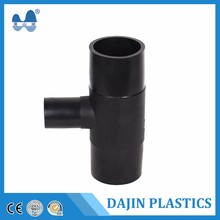 wholesale water supply pipe fittings PE electrofusion reducing tee