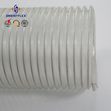 Transparent Food Grade PVC Steel Suction Hose
