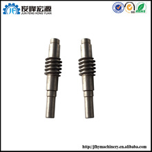 OEM factory machinery cnc machining forged steel gear shaft