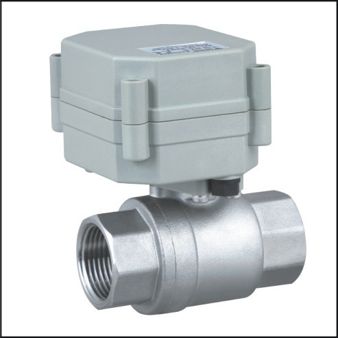 Rosh DN20 stainless steel 4-20mA electric proportionate regulating control motorized ball valve