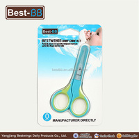 Most Popular Advertising baby safety scissors with plastic handle