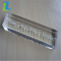 Polycarboante Rod, Square Clear Acrylic Rod, Clear Plastic Square Rod