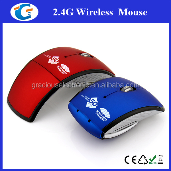 Brand Name Computer Curved USB Optical Mouse