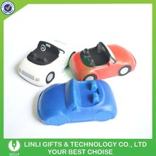 Promotional Logo PU Car Stress Toy,Car Shape Stress Ball,Squeeze Stress Cars Toy
