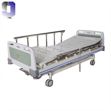 JQ-FA-5 Cheap price metal hospital bed patients home care Electric 3 functions nursing home beds