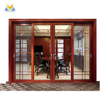Chinese high-end new product wood composite front villa entrance doors
