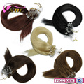 XBL New Arrival Within Different Hair Color Straight Micro Ring Hair Extension
