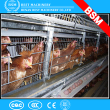 Poultry farm used a type ladder laying hen chicken cages with egg collection system/machine