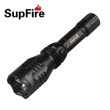 Supfire Y3 rechargeable led high power hunting torch flashlight