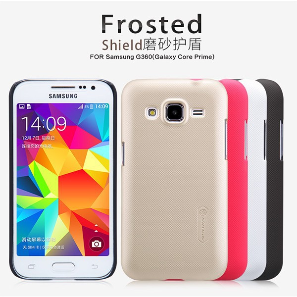 Nillkin Super Frosted Matte Hard Cover Case Shell For Samsung Galaxy Core Prime G360