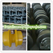 china made OEM EX200-2,EX210-5,EX220-6,EX270 undercarriage parts track roller/top roller/idler/sprocket/track chain/track shoe