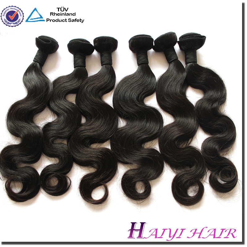 2016 New arrival unpressed 100% jet black brazilian hair