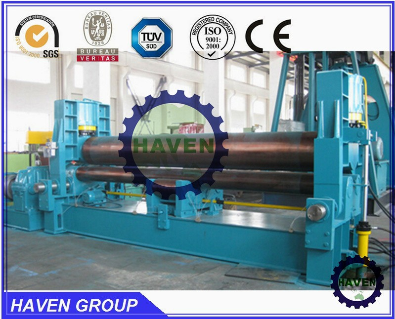 Universal top roller bending and steel plate metal rolling machine rolling W11S
