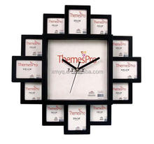 Home Decorations Photo CLock 3D Stickers Wall