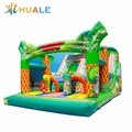 Factory price bounce house with slide, inflatable water slide