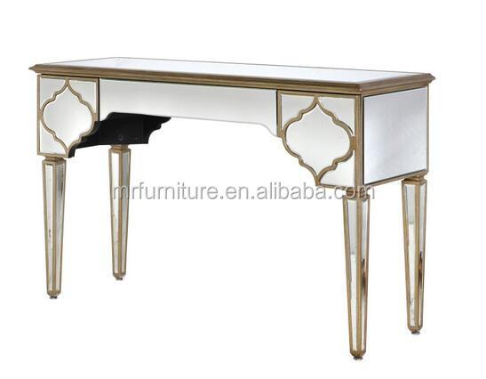 Alem Design Mirrored Vanity Table For Bedroom Furniture