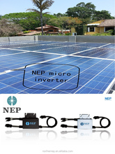 CSA UL1741 IEEE1547US Mexico NewZealand France popular second generation waterproof IP67 NEP grid tie 250w solar micro inverter