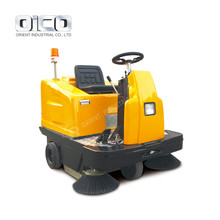 Intelligent Ride-On Electric Vacuum Road Sweeper
