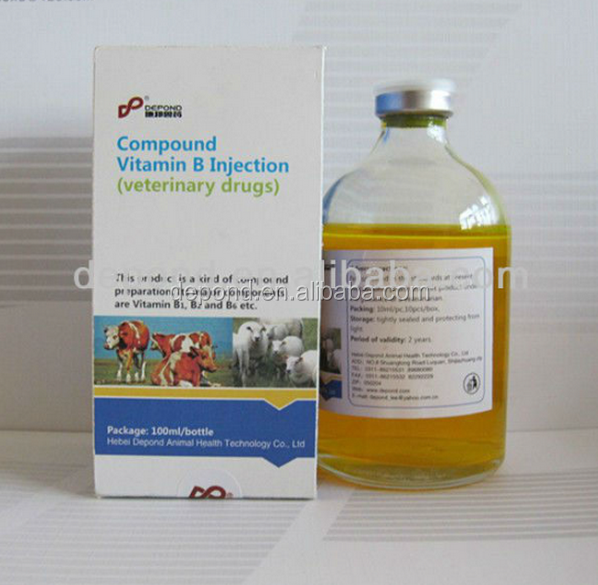 veterinary medicines poultry drug Vitamin B Complex Injection