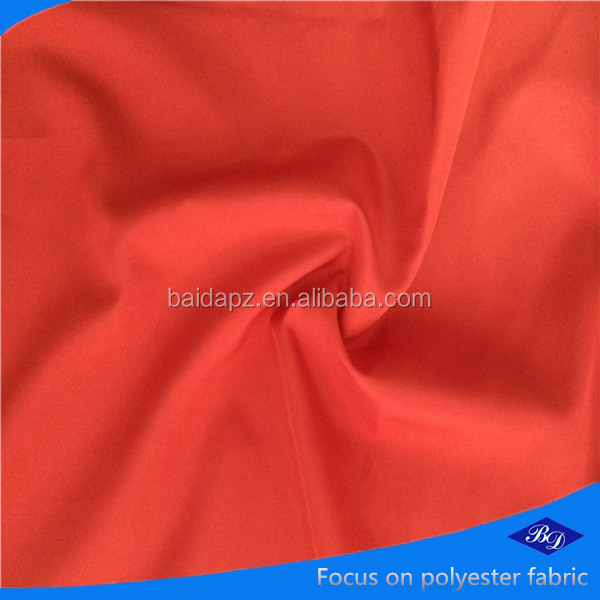 My alibaba 240T full dull polyester plain pongee lining fabric of manufacture