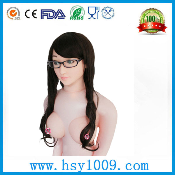 hot sell realistic breasts silicone vagina sex doll for kids