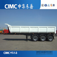 CIMC Manufacturer Mine,Coal Transport Dump Semi Trailer with Volume Optional