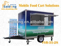 world best food van/snack cart/coffee vending cart