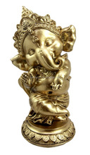 Personalized Hand Crafted Decorartive Poly Resin Lord Ganesha Figurine
