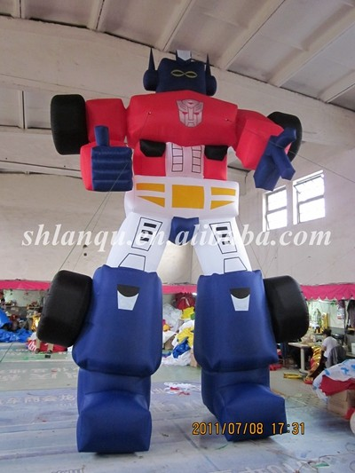 new design inflatable robot /advertising model for sale