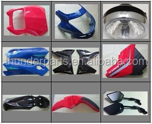 Motorcycle body parts,for GXT200(QINGQI QM200GY),HJ125-7(HAOJUE)