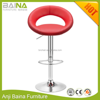 Hot sale PU leather bar stool footrest covers