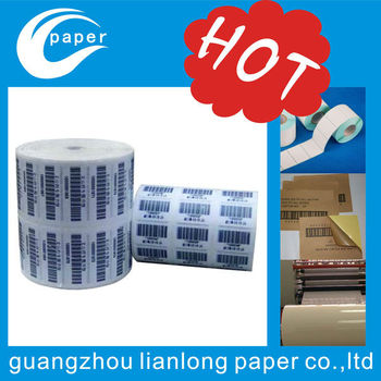 2017 new high quality adhesive label sticker in guangzhou lianlong