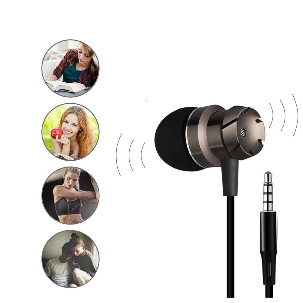 Original Official MI In-Ear Headphones Basic Handsfree Wire Control Noise Cancelling earphone