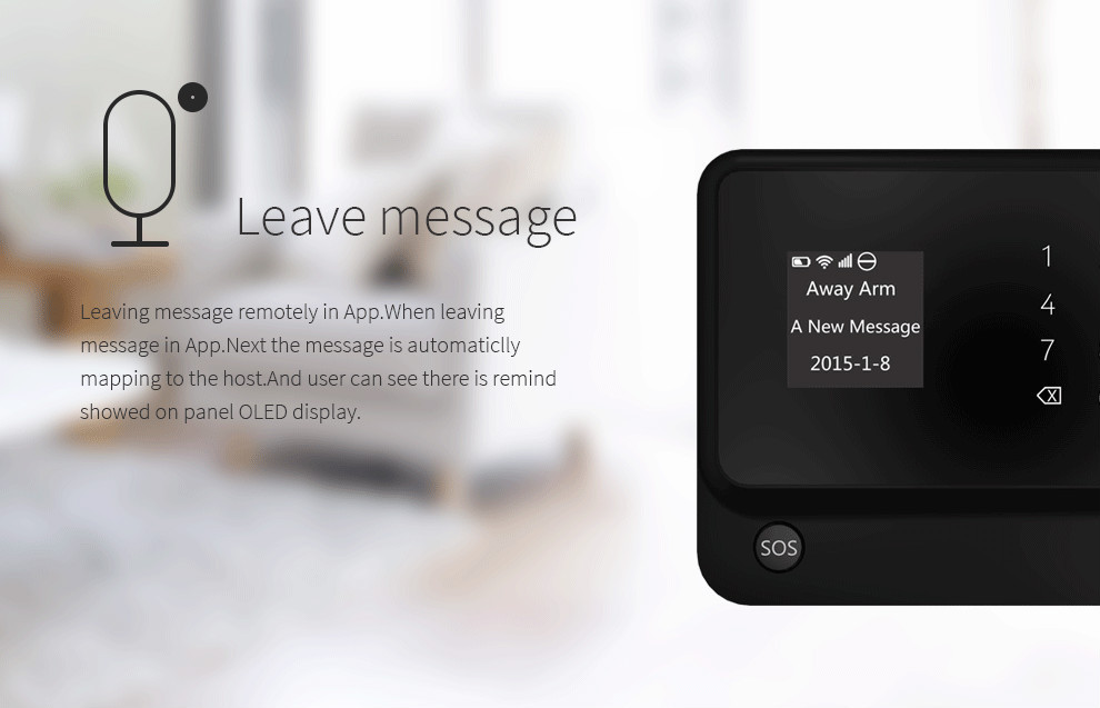 Wireless Home GSM Alarm,Intelligent APP gsm alarm,Andriod/IOS GSM alarm system /home security alarms wireless