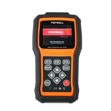 Newest! Auto Battery Configuration Tool Foxwell NT402 Car Battery Tester Update Online Powerful