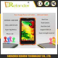 "7 Inch Android4.2 tablet pc double camera 7"" tab pc1240*600 LCD dual Core Tablets Pc"