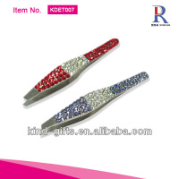Luxurious Rhinestone Diamond Crystal How To Shape Eyebrows With Tweezers Supplier|Factory|Manufacturer