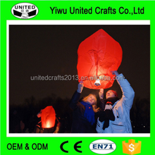 chinese latern Chineses Kongming Wishing Lamp Flying Sky Lantern For christmas PARTY