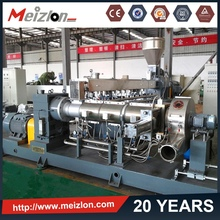 waste plastic granules making machine/twin screw extruder