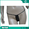 Hot customized black women's disposable underwear,Nonwoven disposable underwear lady/brief/panty/bra