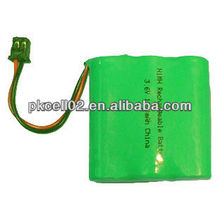 3.6V 1200mAh NI-MH Battery Pack is on sale in pkcell02.en.alibaba.com