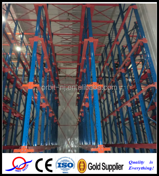 Orbit Heavy Duty Filo Racking, drive thru rack, first in/first out pallet rack